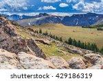 rocky mountains national park...   Shutterstock . vector #429186319