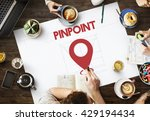 navigation location mapping... | Shutterstock . vector #429194434