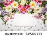 Festive Flower Composition Wit...