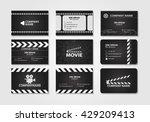 vector set of creative business ... | Shutterstock .eps vector #429209413