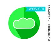 cloud icon. weather forecast.... | Shutterstock .eps vector #429209998