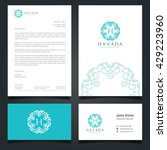 luxury logo  letter head  book... | Shutterstock .eps vector #429223960