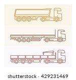 vehicle pictograms  european... | Shutterstock .eps vector #429231469