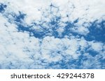 cloud texture | Shutterstock . vector #429244378