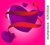 flying heart | Shutterstock .eps vector #42925018