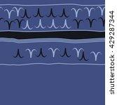 horizontal seamless  pattern of ... | Shutterstock .eps vector #429287344