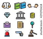 law    Shutterstock .eps vector #429292618