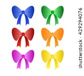 color bows | Shutterstock .eps vector #429294076