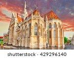 St. Matthias Church In Budapes...