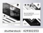 annual report brochure.... | Shutterstock .eps vector #429302353