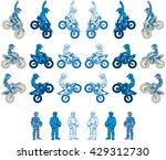 a blue color variations set at...