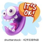 3d illustration laughing...   Shutterstock . vector #429338968