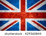 flag of united kingdom or... | Shutterstock . vector #429360844