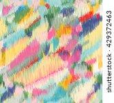 seamless ikat pattern. abstract ... | Shutterstock .eps vector #429372463