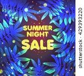 beautiful summer design with... | Shutterstock .eps vector #429393220
