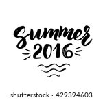 Summer 2016 Card With Hand...