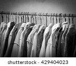 black and white image of... | Shutterstock . vector #429404023