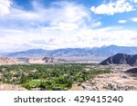 top the top of leh  | Shutterstock . vector #429415240