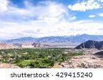top the top of leh  | Shutterstock . vector #429415240