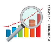 vector illustration of business ... | Shutterstock .eps vector #429424588