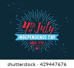 fourth of july  united stated... | Shutterstock .eps vector #429447676