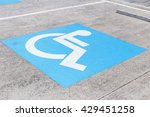Logos For Disabled On Parking