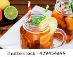 ice tea  | Shutterstock . vector #429454699