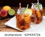 ice tea  | Shutterstock . vector #429454726