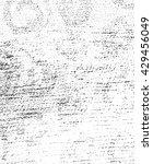 grunge sketch effect texture ...   Shutterstock . vector #429456049