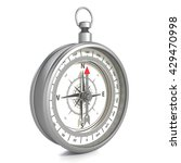 compass isolated on white... | Shutterstock . vector #429470998