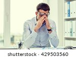 business  people and work... | Shutterstock . vector #429503560