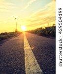 straight line | Shutterstock . vector #429504199
