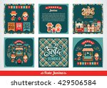 latin american holiday  the... | Shutterstock .eps vector #429506584