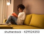 young african american woman...   Shutterstock . vector #429524353