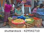 chichicastenango gustemala... | Shutterstock . vector #429542710