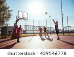 young male basketball player... | Shutterstock . vector #429546778