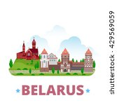 belarus country design template.... | Shutterstock .eps vector #429569059