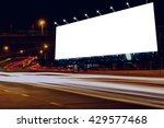 billboard blank for outdoor... | Shutterstock . vector #429577468