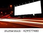 billboard blank for outdoor... | Shutterstock . vector #429577480