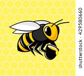 bee. bee icon. the isolated... | Shutterstock .eps vector #429580660