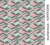 Seamless Pattern With Isometri...