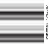 black and white abstract pattern | Shutterstock .eps vector #429622564