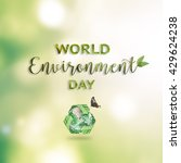 world environment day  june 5... | Shutterstock . vector #429624238