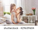 happy loving family. mother and ... | Shutterstock . vector #429639604