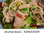close up thai cuisine spicy... | Shutterstock . vector #429653539