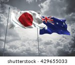 3d illustration of japan  ... | Shutterstock . vector #429655033