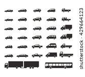 car icons big set vector...   Shutterstock .eps vector #429664123