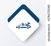 toy car icon | Shutterstock .eps vector #429670540