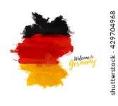 symbol  poster  banner germany. ... | Shutterstock .eps vector #429704968