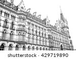 old architecture in london... | Shutterstock . vector #429719890